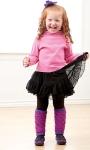 Glitter Girl Legwarmers Crochet World Magazine, December 2011