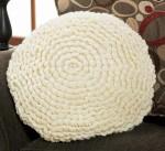 Crochet Petal Pillow Herrschners