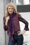 Middle of the Road Scarf Caron International Yarns