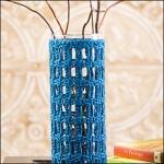 Vase Cozy Crochet! Magazine, Autumn 2012