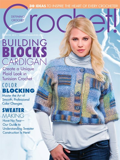 Just Crochet Magazine : Crochet! Magazine hooked-on-crafting.com