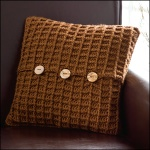 Harvest Home Pillow, Crochet! Magazine, Dec '12