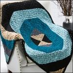 Quantum Geo Throw, Crochet! Magazine, Dec '12