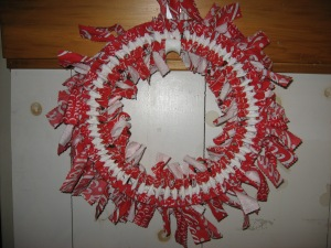 Coca-Cola Wreath - Reverse Side