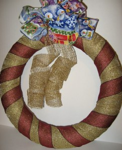 Gift Ribbon Wreath