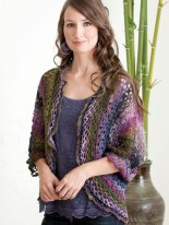 Dolman Sleeve Lacy Shrug