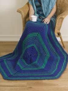 Mega Motif ThrowCrochet 1-2-3 Issue #4