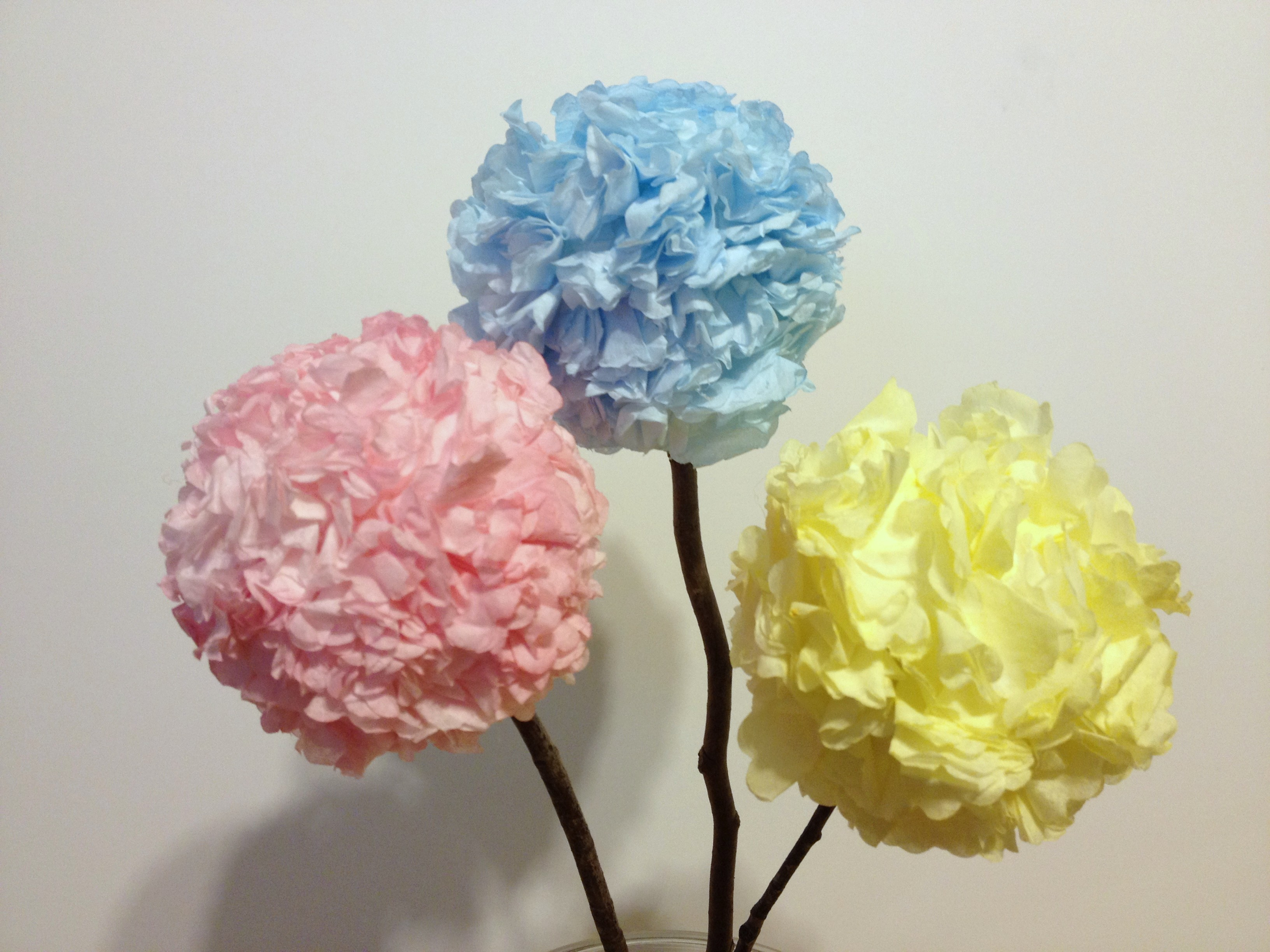 Mothers Day Paper Hydrangeas Hooked On Crafting