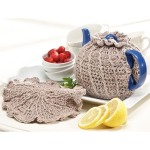 Dainty Teapot Cozy & Trivet