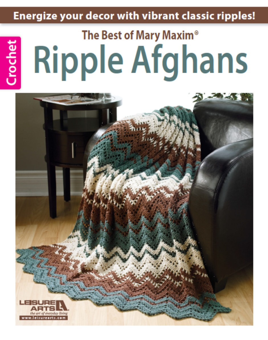 Ripple Granny and Rise and Fall Throw | hooked-on-crafting.com