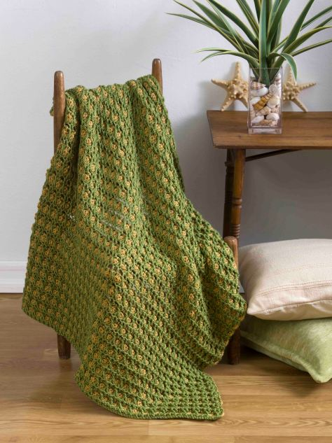 True Dimensions Throw -  This throw has lots of depth and texture.