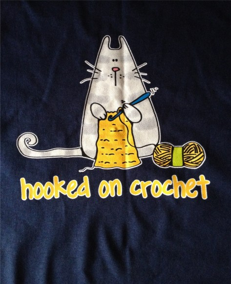 Hooked on Crochet T Shirt