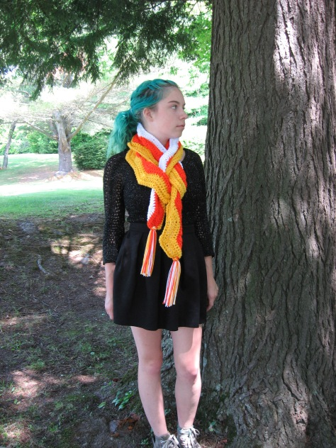 Candy Cane Scarf - 4
