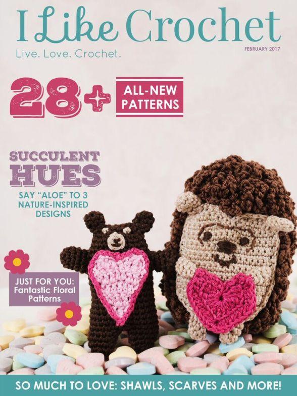 I Like Crochet February 2017 Issue Hooked On Crafting